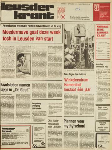 Leusder Krant 1981-09-01