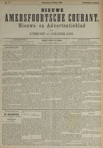 Nieuwe Amersfoortsche Courant 1888-10-31