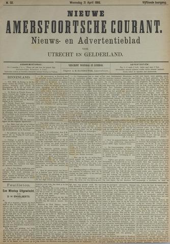 Nieuwe Amersfoortsche Courant 1886-04-21
