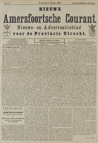 Nieuwe Amersfoortsche Courant 1908-01-08