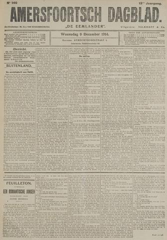 Amersfoortsch Dagblad / De Eemlander 1914-12-09