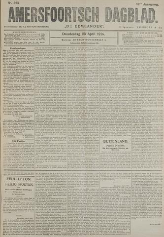 Amersfoortsch Dagblad / De Eemlander 1914-04-23