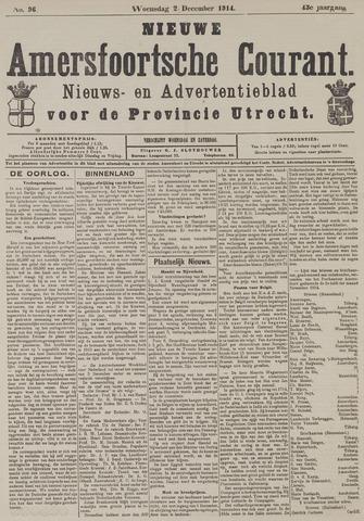Nieuwe Amersfoortsche Courant 1914-12-02