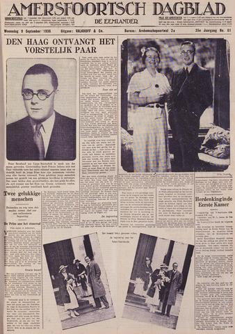 Amersfoortsch Dagblad / De Eemlander 1936-09-09