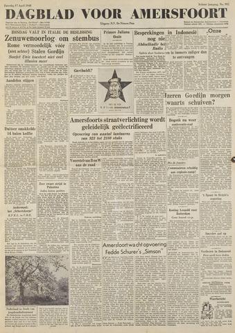 Dagblad voor Amersfoort 1948-04-17