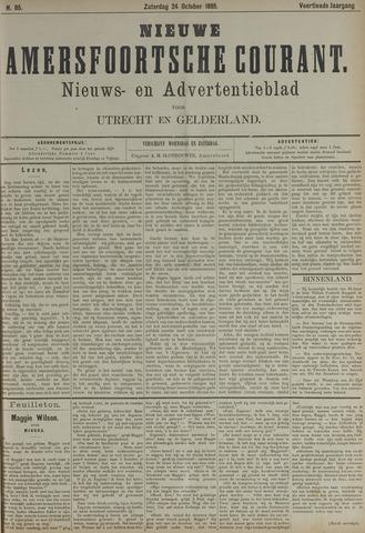 Nieuwe Amersfoortsche Courant 1885-10-24