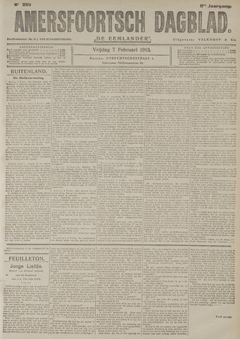 Amersfoortsch Dagblad / De Eemlander 1913-02-07