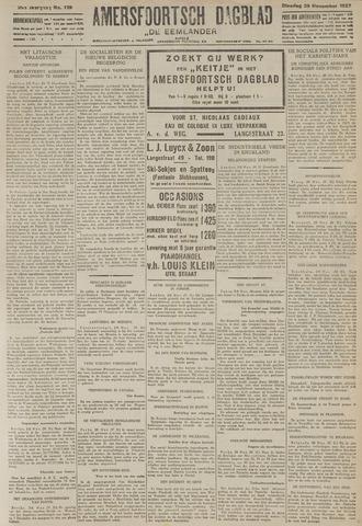 Amersfoortsch Dagblad / De Eemlander 1927-11-29