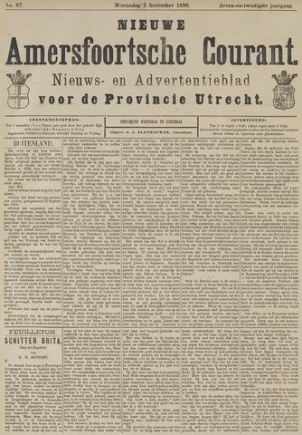 Nieuwe Amersfoortsche Courant 1898-11-02