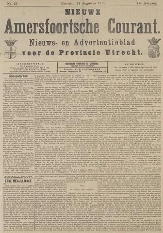 Nieuwe Amersfoortsche Courant 1918-08-24