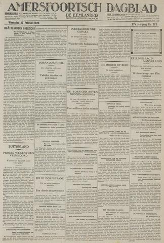 Amersfoortsch Dagblad / De Eemlander 1929-02-27