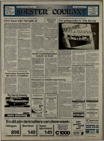 Soester Courant 1991-10-30