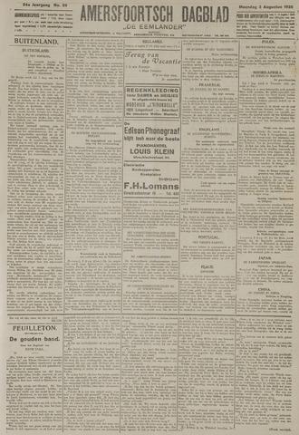 Amersfoortsch Dagblad / De Eemlander 1925-08-03
