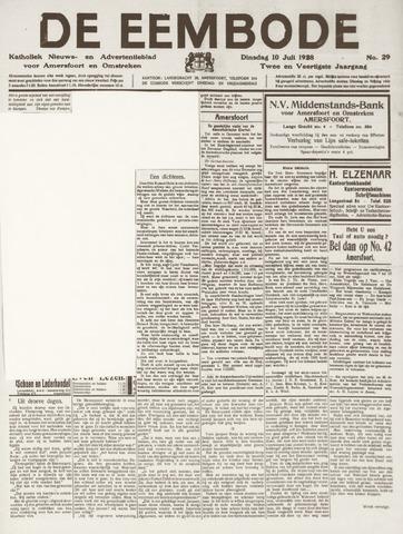 De Eembode 1928-07-10