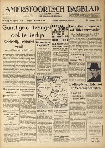 Amersfoortsch Dagblad / De Eemlander 1939-08-30