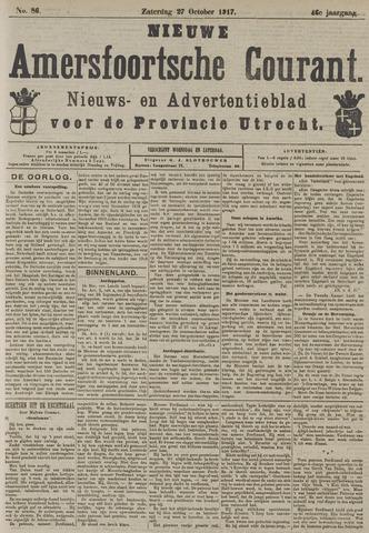 Nieuwe Amersfoortsche Courant 1917-10-27