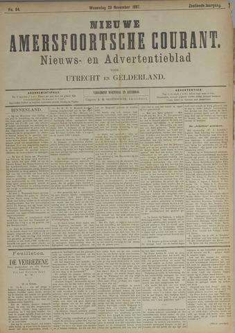 Nieuwe Amersfoortsche Courant 1887-11-23