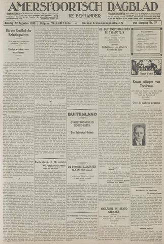 Amersfoortsch Dagblad / De Eemlander 1930-08-12