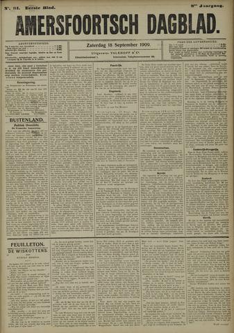 Amersfoortsch Dagblad 1909-09-18