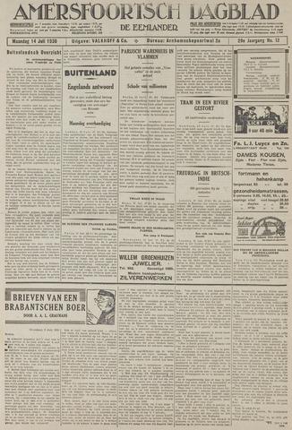 Amersfoortsch Dagblad / De Eemlander 1930-07-14
