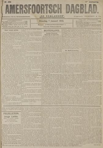 Amersfoortsch Dagblad / De Eemlander 1913-01-07