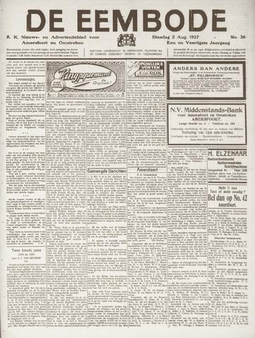 De Eembode 1927-08-02