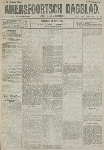 Amersfoortsch Dagblad / De Eemlander 1915-07-24