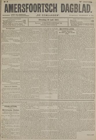 Amersfoortsch Dagblad / De Eemlander 1917-07-10