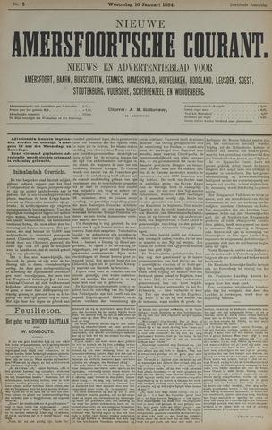 Nieuwe Amersfoortsche Courant 1884-01-16