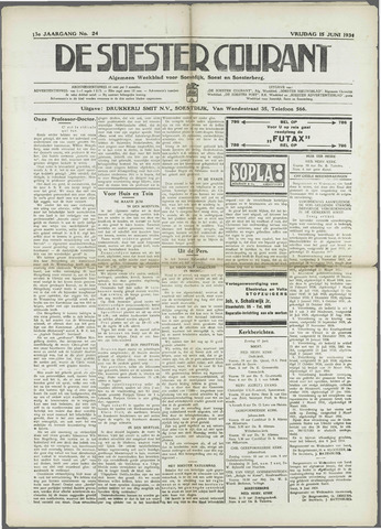 Soester Courant 1934-06-15