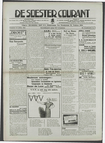 Soester Courant 1940-04-20