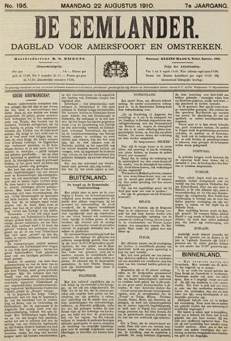 De Eemlander 1910-08-22
