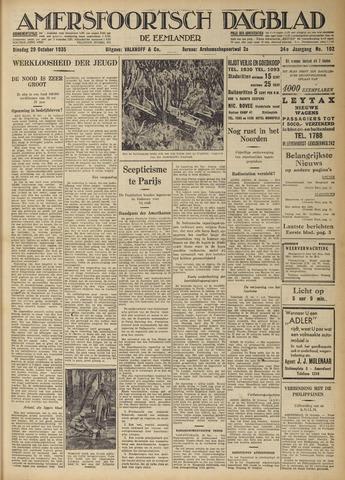 Amersfoortsch Dagblad / De Eemlander 1935-10-29