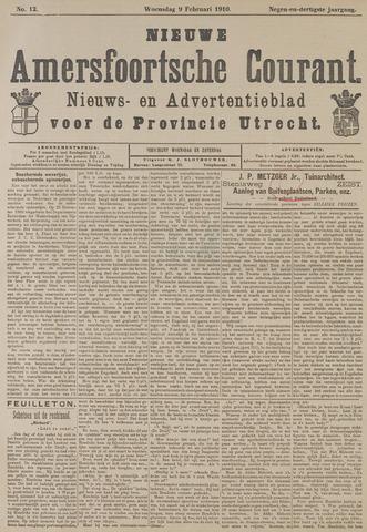 Nieuwe Amersfoortsche Courant 1910-02-09