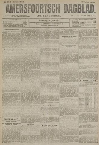 Amersfoortsch Dagblad / De Eemlander 1917-06-16