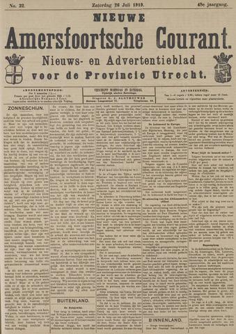 Nieuwe Amersfoortsche Courant 1919-07-26