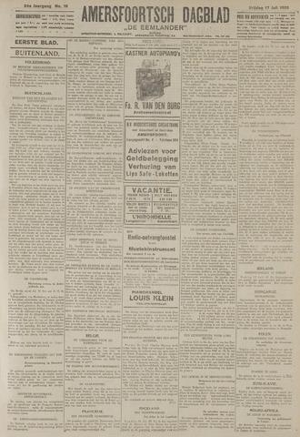 Amersfoortsch Dagblad / De Eemlander 1925-07-17