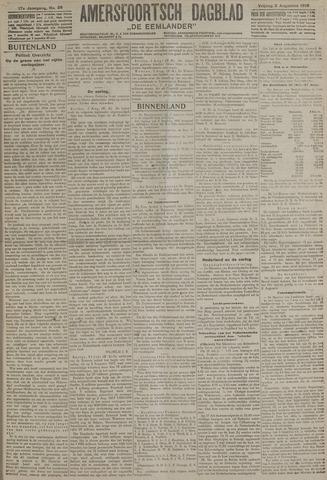 Amersfoortsch Dagblad / De Eemlander 1918-08-02