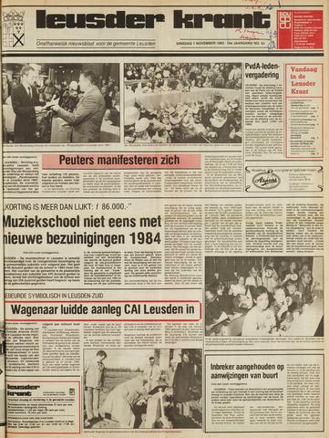 Leusder Krant 1983-11-01