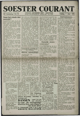 Soester Courant 1946-06-07