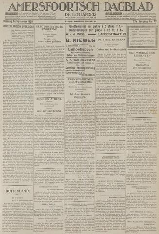 Amersfoortsch Dagblad / De Eemlander 1928-09-25