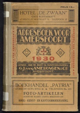 Adresboeken Amersfoort 1930