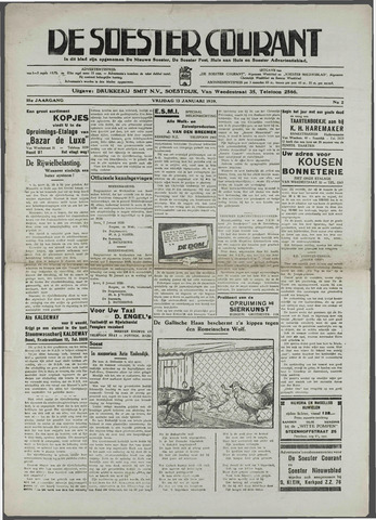 Soester Courant 1939-01-12