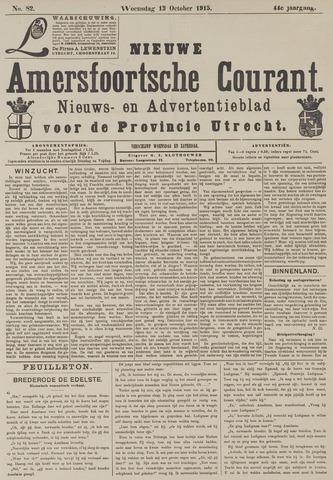 Nieuwe Amersfoortsche Courant 1915-10-13