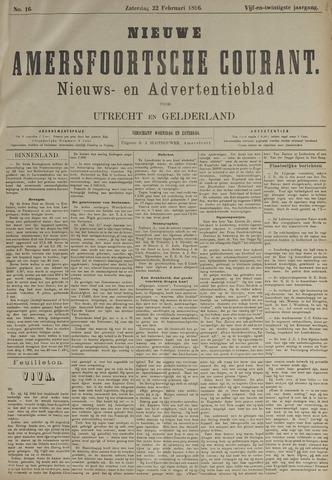 Nieuwe Amersfoortsche Courant 1896-02-22