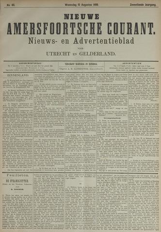 Nieuwe Amersfoortsche Courant 1888-08-15