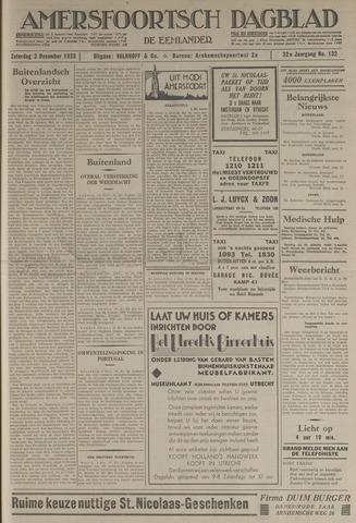 Amersfoortsch Dagblad / De Eemlander 1933-12-02