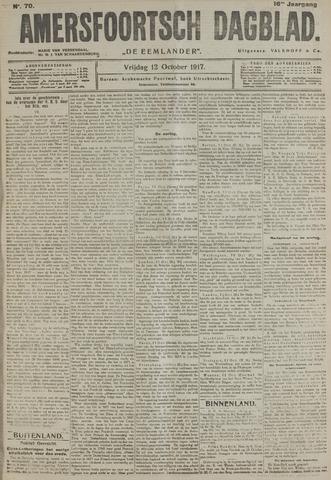 Amersfoortsch Dagblad / De Eemlander 1917-10-12
