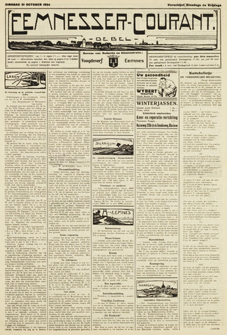 Eemnesser Courant 1924-10-21