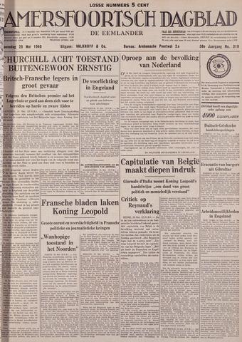 Amersfoortsch Dagblad / De Eemlander 1940-05-29